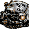 Fallout Helmet Born To Kill 480x480
